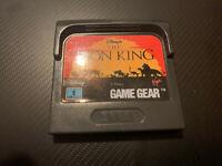El Rey León Lion King Game Gear Gamegear PAL