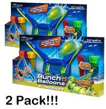 2 Pack Zuru Bunch O Balloons-Slingshot 400 Self Sealing Water Balloon Fight War