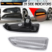 2PC Dynamic LED Side Indicator Light For Opel Vauxhall Astra J K Insignia