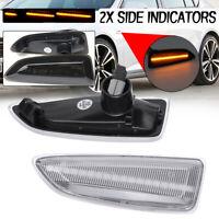 For Opel Vauxhall Astra J K Insignia B Zafira C Dynamic LED Side Indicator Light