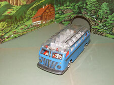 Günthermann Blechspielzeug Setra Reisebus blau
