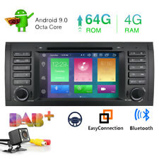 """DAB+Car stereo for BMW 5 Series E39 E53 X5 M5 7"""" Android 9.0 Sat Nav GPS 4G PX5"""