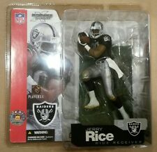 McFarlane Sportspicks NFL series 5 JERRY RICE action figure-Oakland Raiders-NIDB