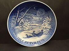 Copenhagen Blue Plate 1970 Julc Aftcr