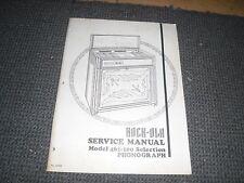 Service Manual für Rock Ola 461 Musikboxen
