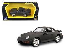 Matte Black  Road Signature 1/43 1996 Porsche 911 Turbo for Lionel,MTH & K-Line