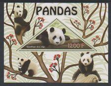 Congo - 2014, 1200f Pandas sheet - MNH