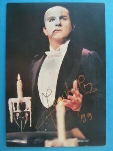 "Jerzy Jeszke, Karte Musical ""Das Phantom der Oper"" (signiert)"