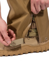 BEYOND CLOTHING AXIOS A6 RAIN PANT U.S.A MADE SPECIAL FORCES ISSUE COYOTE BROWN