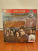 Scene It? Twilight Deluxe The DVD Game Trivia Family Fun Watch Play NEW SEALED