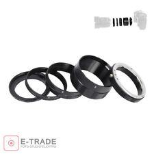 Macro Extension Tube Ring set for nikon cameras EU seller D7000 D5100 D3000 D300