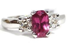 Anelli di lusso con gemme in oro bianco diamante Misura anello 6