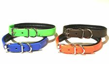 Dog & Field Deluxe Biothane Dog Collar with Unique Soft Padded Liner - 4 Colours