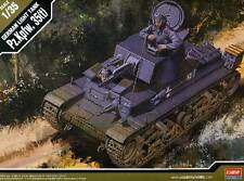 Academia Tanque de guerra Pz.Kpfw. 35(t) + Figura Lata 1:35 modelo del juego
