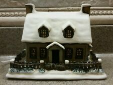 CURRIER & IVES WINTER EVENING MUSEUM OF THE CITY OF NY 3RD  IN SERIES HOUSE 2000