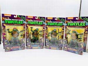 TMNT Set Of 4 Action Figures 1990 Movie Version Classic Collection NEW Toys Rare