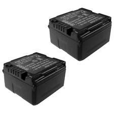 2x AKKU für Panasonic HDC-SD1 HDC-HS200 HDC-TM300 SDR-H280 NV-GS90 HDC-SD20