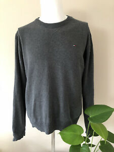 Tommy Hilfiger Unisex Jumper dark grey unisex size M, medium warm
