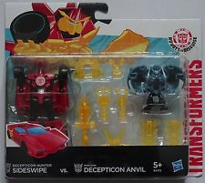HASBRO® B4715 Transformers RID Minicon Sideswipe vs. Decepticon Anvil