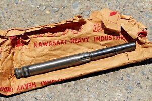 Kawasaki B8 B8S B8T F1 F1TR F2 F2TR F3 Kick Starter Shaft NOS Genuine 13066-004