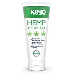 5Kind Hemp Joint and Muscle Active Relief Gel with Natural Ingredients, 100ml