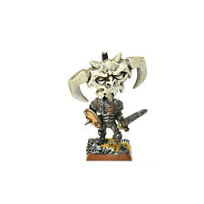 WARRIORS OF CHAOS chaos warrior with standard #1 METAL Fantasy nurgle