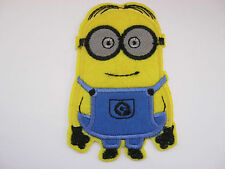 """Minion Patches Iron On Appliques or Sew On 9cm (3 1/2"""") Cartoon Clothing Patch"""