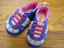 Surprize by Stride Rite sz 6-12 mo. multi-color infant adjustable strap shoes Ex