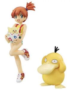 G.E.M. Series Pokemon Misty, Togepi & Psyduck Figure Megahouse Japan