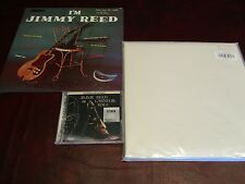 JIMMY REED CARNEGIE HALL SACD AUDIOPHILE CD + 45 TEST PRESS + I'M JIMMY REED