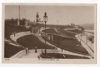 The Slopes Plymouth Hoe Devon 1917 RP Postcard 897b