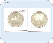 10 MARCOS   DE PLATA AÑO 1988 D    ALEMANIA      ( MB12728 )