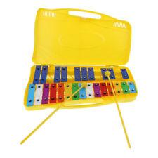 Lega di alluminio 25 xilofono in custodia rigida per bambini giocattolo