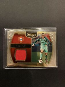 2016-2017 Panini Select Cristiano Ronaldo Patch Jersey Card #M-CR7