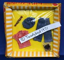 TUTTI TODD NRFB Fashion #8596  Dungaree Dandy To the Playground Vintage Barbie