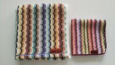 Authentic Missoni Face Towel & Hand Towel Set New! Imabari Towel