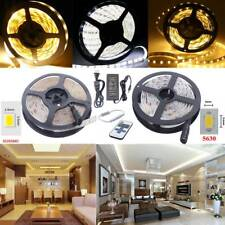 5630 3528 Waterproof Flexible 300 LED Strip Light DC12V 1M-10M+Remote Controller