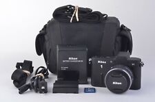 MINT NIKON 1 V1 w/10-30mm ZOOM LENS, BATT+CHARGER+SD CARD+CASE ONLY 83 ACTS!!!