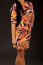 Tracy Negoshian Women's Willow & Black Venus Shift Dress Size Medium