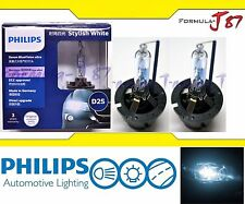 Philips HID Xenon Blue Vision White 6000K D2S Two Bulbs Head Light Plug Play OE