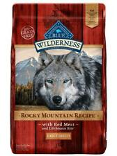 Blue Buffalo Wilderness Rocky Mountain Red Meat Large Breed Adult Dog Food
