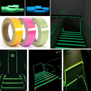 Luminous Tape Stage Decoration Stickers Self Adhesive Glowing Night Light