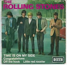 The Rolling Stones Time is on my side (EP) 1965-09 - blue BIEM label FRANCE