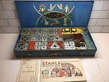 Stanlo #1500 The Electrical Motor Set, 1930's Vintage,  Original