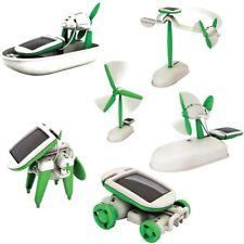 Good AU - 6 in 1 Solar DIY Educational Kit Toy Boat Fan Car Robot
