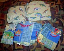 Whisper Soft Mills Dinosaurs Twin Sheet Bedding Set 6 Piece