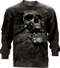 The Mountain 100% Cotton Adult Long Sleeve T-Shirt Breakthrough Skull Size M NWT