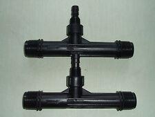 "Venturi Air / Fluid Injector 1"" Black x 2 - Brand New Unused"