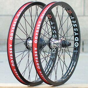 ODYSSEY BMX BIKE VANDERO FRONT OR CLUTCH v2 FREECOASTER BICYCLE WHEEL POLISHED