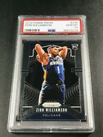 ZION WILLIAMSON 2019 PANINI PRIZM #248 ROOKIE RC PSA 10 PELICANS NBA (A)